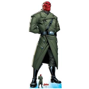 The Avengers Red Skull Lifesized Cardboard Cut Out
