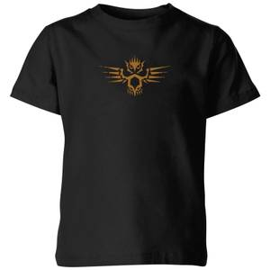 Magic: The Gathering Theros: Beyond Death Owl Emblem Kids' T-Shirt - Black