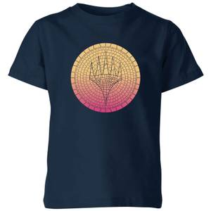 Magic: The Gathering Theros: Beyond Death Planeswalker Symbol Gradient Kids' T-Shirt - Navy