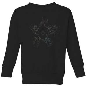 Magic: The Gathering Theros: Beyond Death Gods Constellation Kids' Sweatshirt - Black
