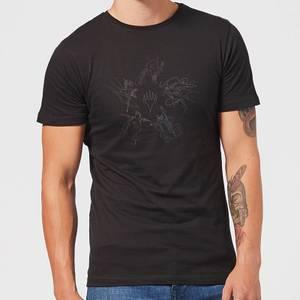 Magic: The Gathering Theros: Beyond Death Gods Constellation Men's T-Shirt - Black