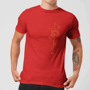 Magic: The Gathering Theros: Beyond Death Asymmetrical Helmet Men's T-Shirt - Red
