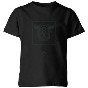 Magic: The Gathering Theros: Beyond Death Mask Kids' T-Shirt - Black