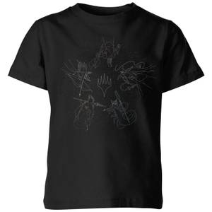 Magic: The Gathering Theros: Beyond Death Gods Constellation Kids' T-Shirt - Black