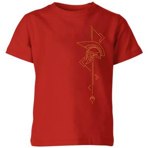Magic: The Gathering Theros: Beyond Death Asymmetrical Helmet Kids' T-Shirt - Red