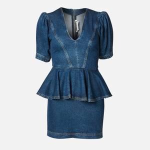 ROTATE Birger Christensen Women's Mindy Dress - Medium Blue