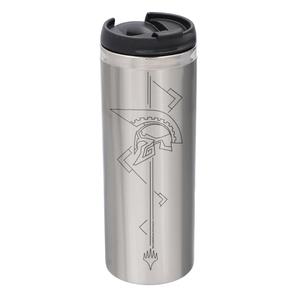 Magic: The Gathering Theros: Beyond Death Helmet Steel Stainless Steel Thermo Travel Mug - Metallic Finish