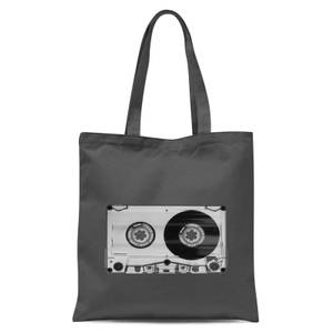 The Motivated Type Cassette Tape Tote Bag - Grey