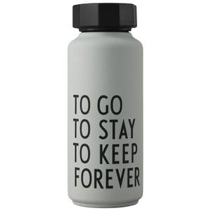 Design Letters Thermo Bottle Special Edition - Grey/Green