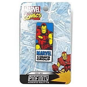 Pin's Réalité Augmentée Marvel Iron Man Comic