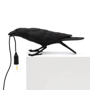 Seletti Playing Bird Lamp - Black