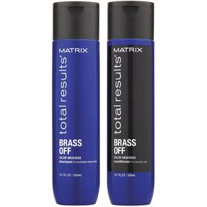 Matrix Total Results Brass Off Shampoo and Conditioner Duo