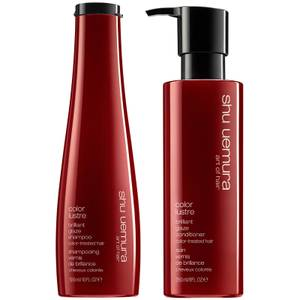 Shu Uemura Art of Hair Color Lustre Shampoo and Conditioner Duo