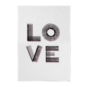 Hatched Love Towel Cotton Tea Towel