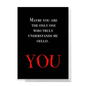 Hello You Greetings Card