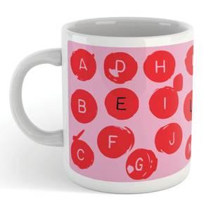 Alphabet Love Letters Mug