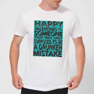 Drunken Mistake Men's T-Shirt - White