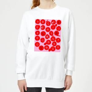 Love Letters Women's Sweatshirt - White
