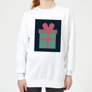 Plain Present Women's Sweatshirt - White