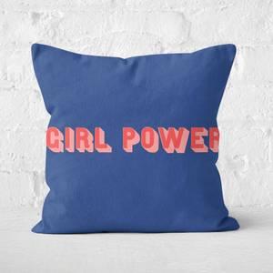 Girl Power Square Cushion