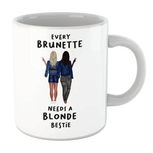 Every Brunette Needs A Blonde Bestie Mug