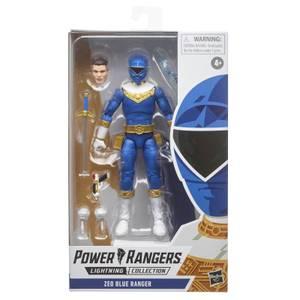 Power Rangers Lightning Collection - Figurine Ranger bleu Zeo