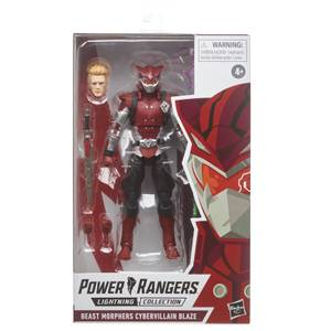 Hasbro Power Rangers S.P.D. Collection Mighty Morphin Cybervillain Blaze 6 Inch Action Figure