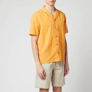 Folk Men's Overlay Shirt - Marigold
