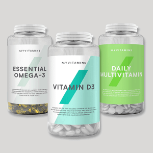 Myvitamins Omega 3, D3, Daily Multi Bundle