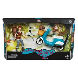 Hasbro Marvel Legends Riders Series Squirrel Girl 6 Inch Action Figure & Vehicle Set