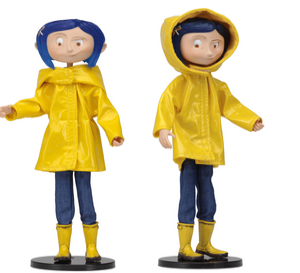 NECA Coraline - Bendy Fashion Doll - Rain Coat
