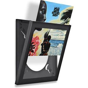 Show and Listen - Black LP Flip Frame