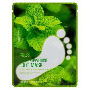 TONYMOLY Fresh Peppermint Foot Mask 16g