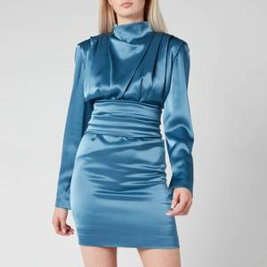HUGO Women's Kikera Dress - Dark Blue