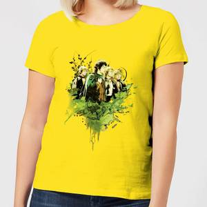 The Lord Of The Rings Hobbits Women's T-Shirt - Yellow