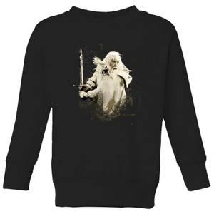The Lord Of The Rings Gandalf Kids' Sweatshirt - Black
