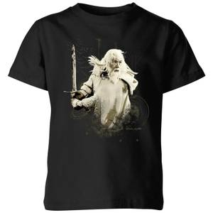The Lord Of The Rings Gandalf Kids' T-Shirt - Black