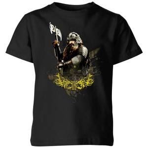 The Lord Of The Rings Gimli Kids' T-Shirt - Black