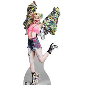 Birds of Prey Harley Quinn Happy Butterfly Oversized Cardboard Cut Out