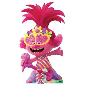 Trolls World Tour Poppy Oversized Cardboard Cut Out