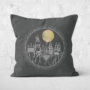 Harry Potter Hogwarts Square Cushion