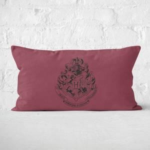 Harry Potter Hogwarts Crest Rectangular Cushion
