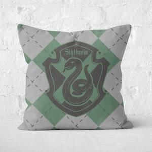 Harry Potter Slytherin Square Cushion