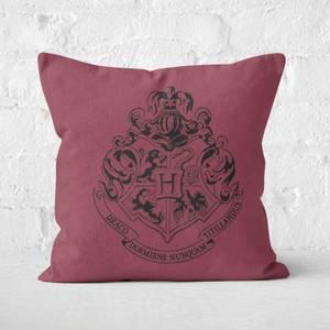 Harry Potter Hogwarts Crest Square Cushion