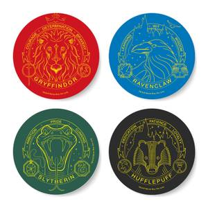 Harry Potter House Pride Coaster Set