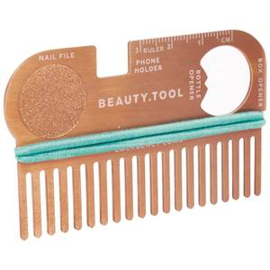 Rose Gold Credit Card Beauty Tool