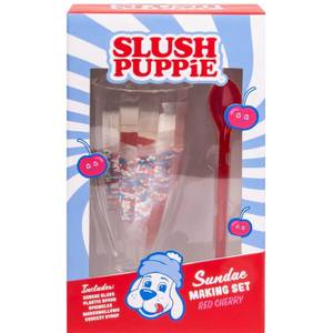Slush Puppie Red Cherry Sundae Set