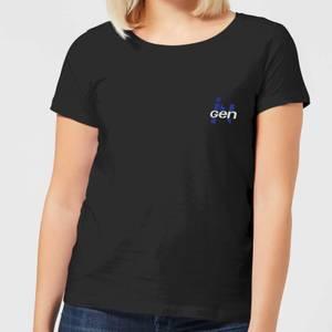 Jurassic Park InGen Pocket Women's T-Shirt - Black
