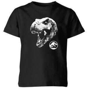 Jurassic Park T Rex Kids' T-Shirt - Black