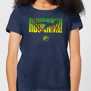 Jurassic Park Run! Women's T-Shirt - Navy